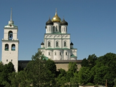 Photos of Old Churches in Pskov city