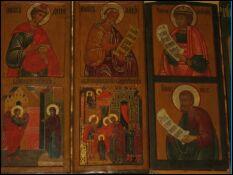 Иконостас храма Взыскание Погибших