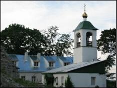 Колокольня Снетогорского монастыря