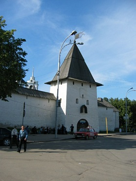 Pskov city, Saint Tower.